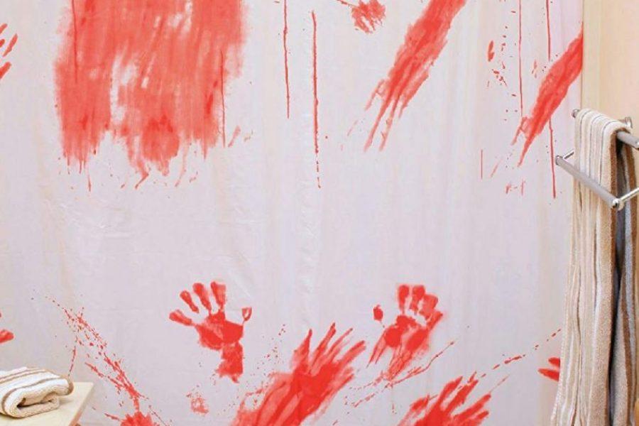 Cortina de baño psicosis – Sangre