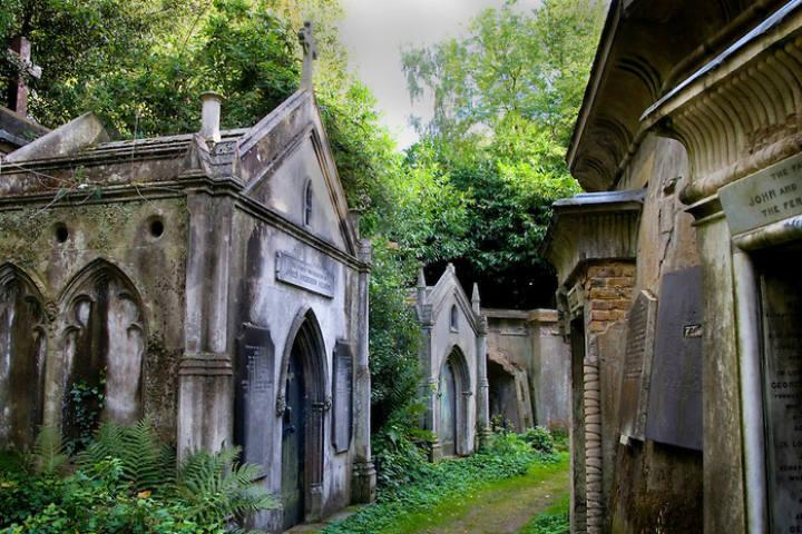 cementerio highgate, andador.