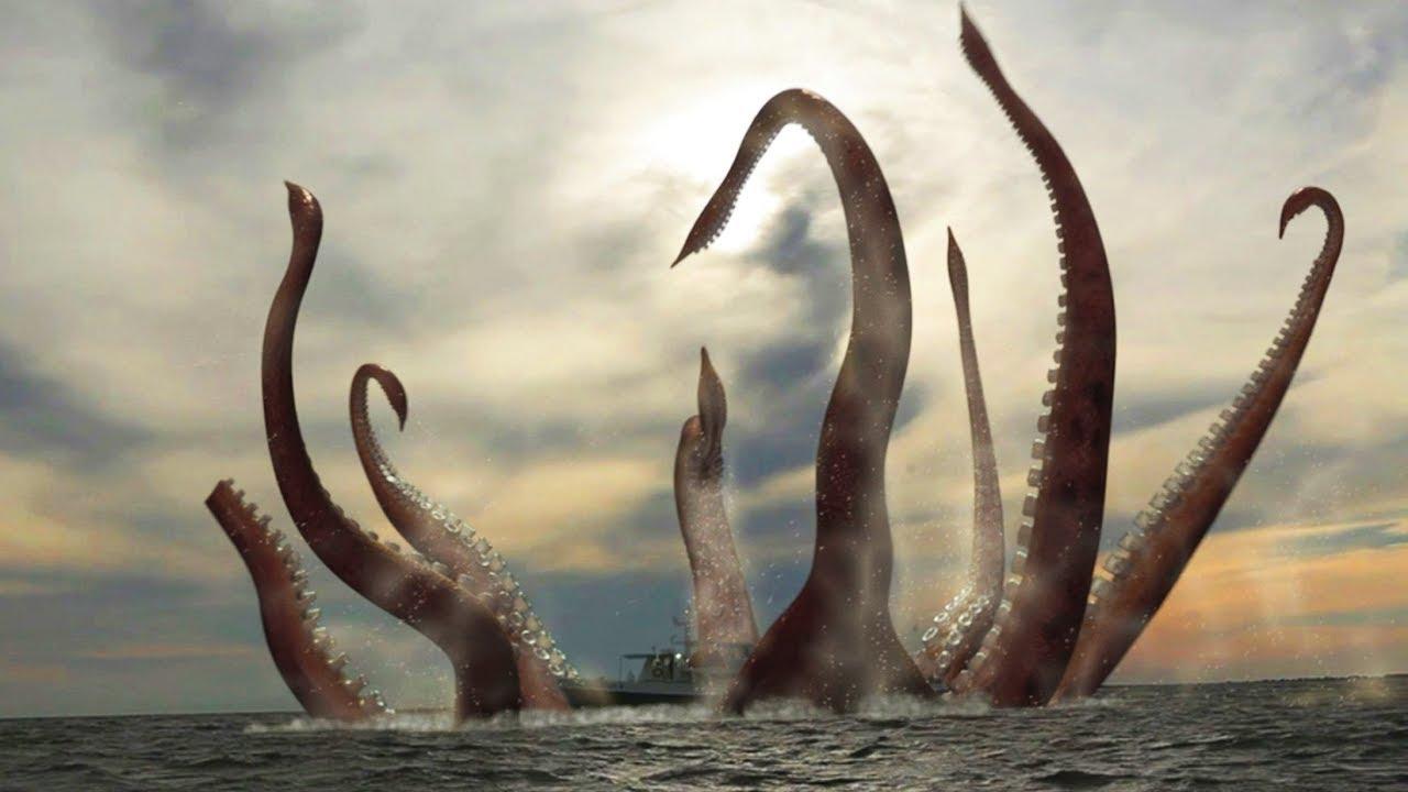 El Kraken – El monstruo marino que aseguran haber visto