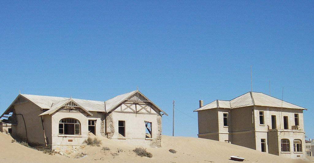 Kolmannskuppe - casa