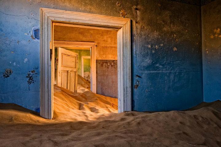 Lugares embrujados – Kolmanskop