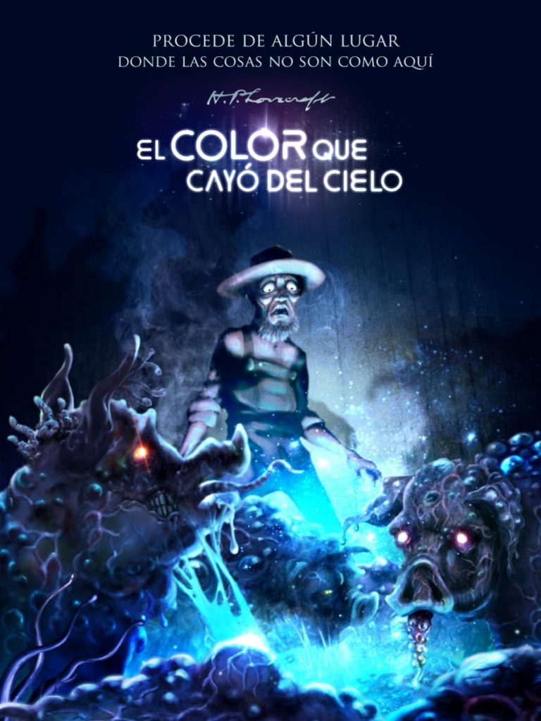 El color que cayó del cielo de H. P. Lovecraft