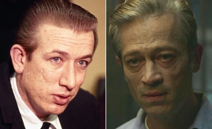 Richard-Speck Real vs Actor Mindhunter - Asesinos Seriales en Series