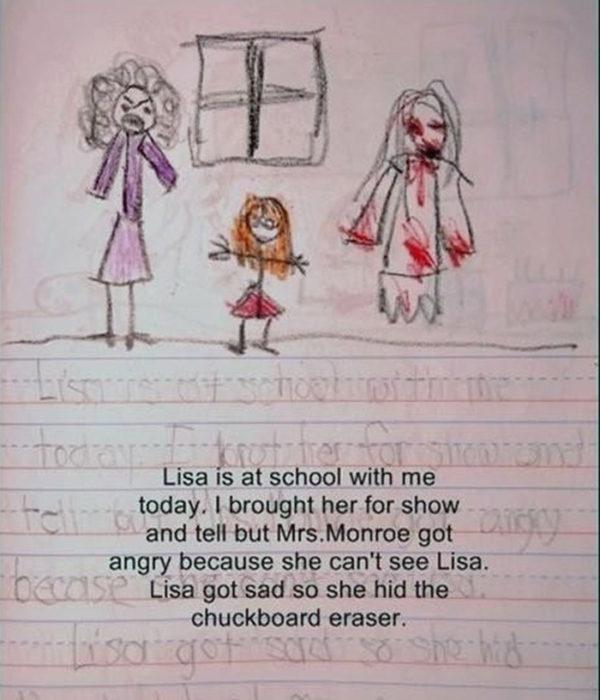 Lisa en la escuela
