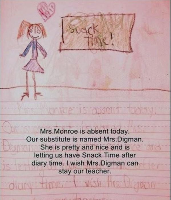 La maestra substituta
