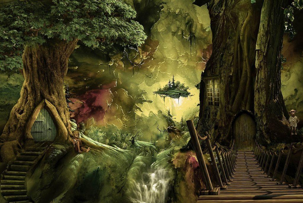 cosas que no sabías de los duendes - bosque