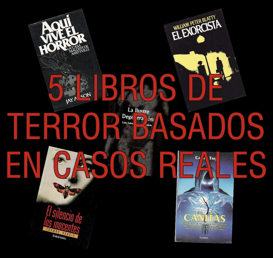 5 libros de terror basados en casos reales