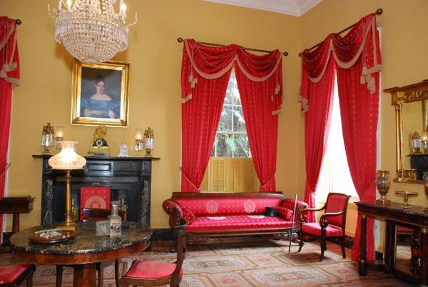 interiorde la mansion madame lalaurie sala