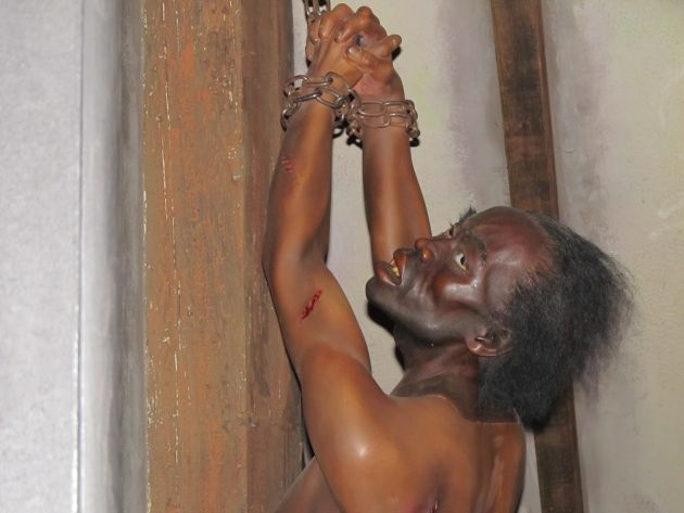 The attic torture chamber was a point of no return for slaves