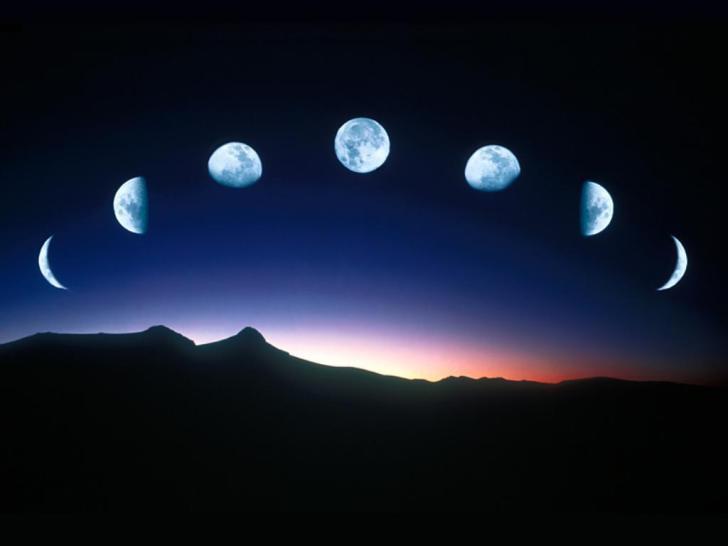fases de la luna - hechizo para atraer dinero
